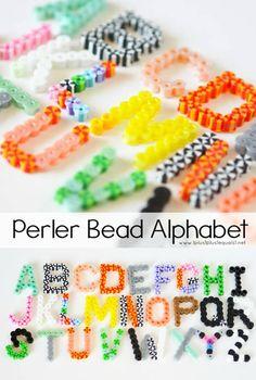 13 Lovely Hama Bead Designs for Summer Easy Perler Beads Ideas, Diy Perler Bead Crafts, Diy Perler Beads, Diy Crafts, Melty Beads Ideas, Simple Crafts, Beaded Crafts, Garden Crafts, Recycled Crafts