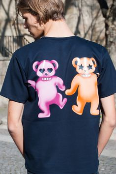 MORE PRINTS PLEASE   #acnestudios #tshirt #bear #menswear #ootd #bungalowgallery