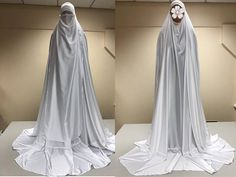 Dress clothing and accessories for the human body. Afghanistan authentic burka burqa free size 1 size fits all blue. Burqa Fashion, Street Hijab Fashion, Muslim Fashion, Women's Fashion, Latest Fashion, Fashion Outfits, Fashion Trends, Hijab Wedding Dresses, Disney Wedding Dresses