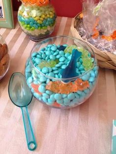 Check Out This Great Photo Of Under The Sea Baby Shower Centerpieces And  Other Many Baby Shower Ideas At Just Baked