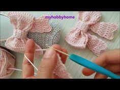 crochet bow pattern Der Neuen 7 : T i Fiyonk Yapm - En Gzel Fiyonk Crochet Bow Ties, Crochet Bow Pattern, Crochet Hair Clips, Crochet Hair Styles, Crochet Shawl, Crochet Lace, Crochet Patterns, Crochet Hair Accessories, Knitting Patterns