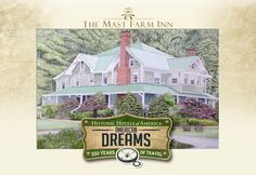 The Mast Farm Inn, Weddings, Elopements, Honeymoons • http://www.weddingsnorthcarolina.us/information/the-mast-farm-inn • Award-winning full service North Carolina Country Inn, specializing in weddings & elopements, and honeymoons, with two restaurants in Historic Valle Crucis, North Carolina, on the National Register of Historic Places, and a Member of Historic Hotels of America and of The Select Registry.