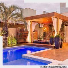 31 Luxury Patio You Should Keep - Home Decor Ideas Small Backyard Pools, Backyard Pool Designs, Small Pools, Swimming Pools Backyard, Swimming Pool Designs, Backyard Patio, Luxury Swimming Pools, Luxury Pools, Dream Pools