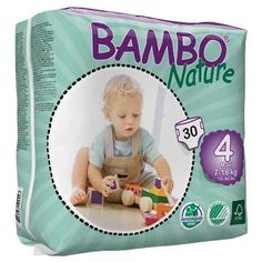 Size 2 Bambo Nature Eco Friendly Baby Diapers Classic For Sensitive Skin 60 Co In Many Styles
