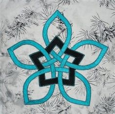 Eternity Knot Quilt Pattern Free | celtic star stencil pattern for concrete
