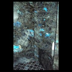 labradorite wall o.m.g yes | Labradorte Blue Ex by New England Marble & Granite