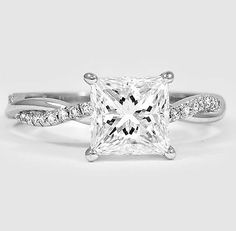A gorgeous engagement ring.