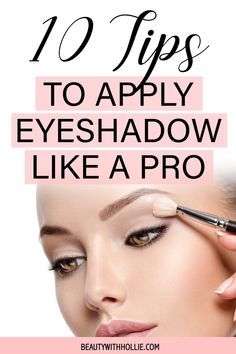 Do you want an eyeshadow cheat sheet to get to the top without wasting years on it? Learn how to apply your eyeshadow like a pro with these easy tips and tricks #easyeyeshadowtips #easyeyeshadowtricks #eyeshadowhacks #makeuphacks #makeuptricks #beautywithhollie #howtoapplyeyeshadow Eyeshadow Tips, How To Apply Eyeshadow, Cream Eyeshadow, Eyeshadow Looks, Fashion And Beauty Tips, Eye Primer, Makeup Routine, All Things Beauty, Skin Makeup