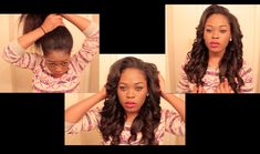 THE EASIEST SEW IN EVER!!! I WOULD NOT HAVE PINNED IT ..IF IT WERE NOT SO...Versatile & Natural Looking Sew In You Can Put In A High Ponytail