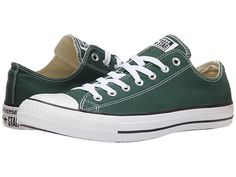 Converse Chuck Taylor® All Star® Seasonal Ox Gloom Green - Zappos.com Free Shipping BOTH Ways