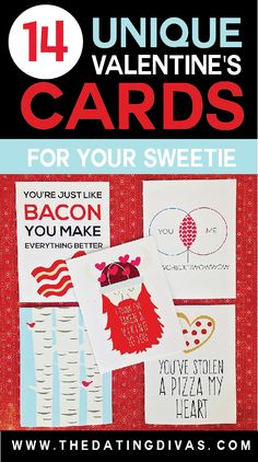 14 Valentines Day Cards for your sweetie!!