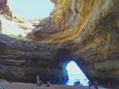 Benegil Sea Cave, Portugal Sea Cave, Travel Pictures, Portugal, Around The Worlds, Photo And Video, Nature, Instagram, Travel Photos, Naturaleza
