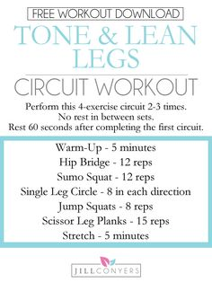 A Fat-Burning Circuit For Leaner Legs