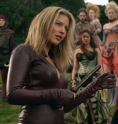 Cara Mason- Legend of The Seeker- Wonderful character with much snark/wit. *Spoiler*-not to mention stayed loyal to Richard*