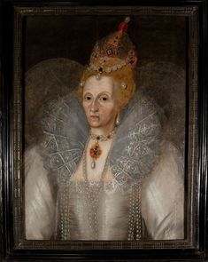 A recently authenticated painting of Queen Elizabeth I shows her wrinkled and wary, unlike the official works made during her life