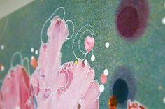 Sebastiaan Bremer - Rhododendron Hybridum Queen Mary - 60x84cm Beschilderde digitale print (detail)