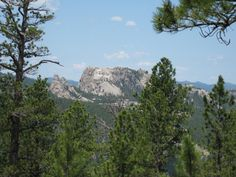 Mount Rushmore, SD - a different view. #nationalparks