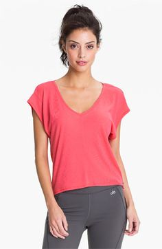 Alo 'Free Spirit' Crop Tee available at #Nordstrom