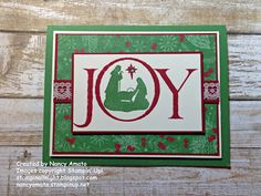 "Joyful Nativity, This Christmas Specialty DSP, Very Vanilla 1/2"" Lace Trim, Rhinestone (exterior)"