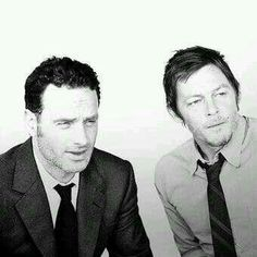Norman Reedus & Andrew Lincoln