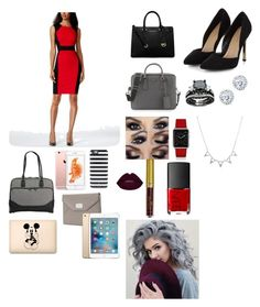 """Untitled #104"" by h-close on Polyvore featuring Calvin Klein, MICHAEL Michael Kors, Prada, Kate Spade, Disney, Mobile Edge, Michael Kors, Kobelli, Casetify and NARS Cosmetics"
