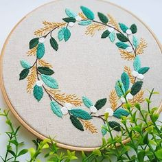 This little spring wreath ...it was intended to be a spring wreath because I was starting to see signs of spring making it's way through last week.....however, it's just started snowing here, so that should give you an idea of how unlike spring it is now feeling . . Enough already Winter. . . #embroidery #embroideryinstaguild #embroiderydesign #embroideryart #embroideryhoop #embroideryartist #hoopart #threadart #needlework #etsyshop #etsy #illustration #dmcthreads #dmcembroidery #dmcraft #s