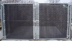 Typical Installation Diagram For Chain Link Rolling Gates