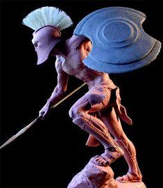 Greek Warrior, Fantasy Warrior, Fantasy Art, Spartan Warrior, Viking Warrior, Greek History, Ancient History, Armadura Medieval, 3d Cnc