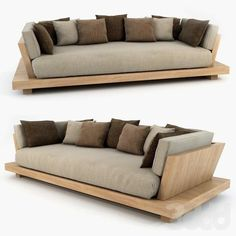 Home Furniture Couches Diy Sofa Ideas Wood Sofa, Couch Furniture, Pallet Furniture, Furniture Design, System Furniture, Furniture Plans, Sofa Chair, Wooden Couch, Furniture Stores