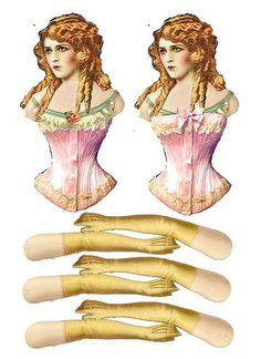 Articulated Mary Pickford Paper Doll - (Also  see Nancy Kelly's other paper doll boards on Pinterest!)