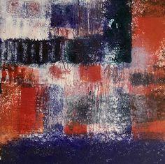 "Natasha Karpinskaia, ""Swing Time,"" Hand painted monotype with mixed media Photo Mosaic, Contemporary Art, Mixed Media, Hand Painted, Artists, Sculpture, Gallery, Painting, Sculpting"