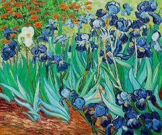Van-Gogh - Irises
