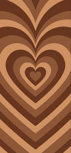 Brown Heart Wallpaper