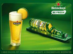 Heineken beer Ad~Be Fresh