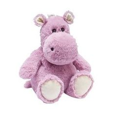 Cozy Plush Hippo - Microwavable Soft Scented Toys