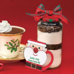 From our 12/8/14 issue: Print the label for our Santa's Irish Cream Cocoa Mix