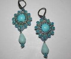 Beaded Bead, Drop Earrings, Beads, Jewelry, Fashion, Jewelry Gifts, Earrings, Homemade, Beading