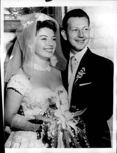 Donald O'Connor and his bride Gloria Noble, an MGM contract player - 1956 - they remained married until he passed in 2003. Description from pinterest.com. I searched for this on bing.com/images