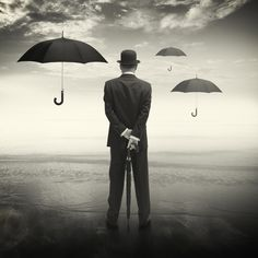 Umbrella Man by Benedict Brain ARPS via The Royal Photographic Society ...
