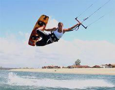 Kitesurfing   Hua Hin, Thailand