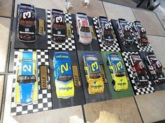 1 24 Dale Earnhardt 3 Dale The Movie Complete Set of 12 Wranglers Lumina | eBay