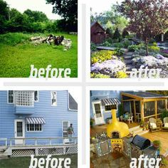 BEST YARD BEFORE AND AFTERS 2011 - 18 Yards; Here's a look at your top picks for yard revamps chosen by This Old House editors and your fellow readers.
