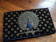Zardosi work peacock