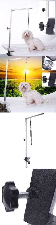Grooming Tables 146241: New Pet Dog Foldable Grooming Arm Bracket Adjustable Clamp Loop For The Table BUY IT NOW ONLY: $37.99
