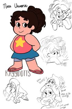 Nora Universe (previously called Stefanie but then it was confirmed that Nora was what Greg and Rose would have called him if he was born a female) Perla Steven Universe, Greg Universe, Universe Love, Steven Universe Comic, Universe Art, Steven Universe Genderbend, Gender Swap, Thing 1, Anime Manga
