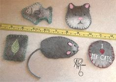 How to Felt Cat Hair Into Homemade Cat Toys // wonderfully detailed tutorial. this is happening.