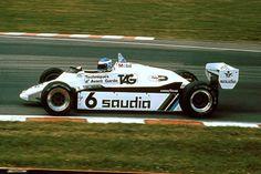 Keke Rosberg, Williams FW08, 1982 British GP