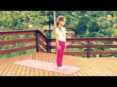 Saudação ao Sol A - Alessandra Geraldi, Akshaya Yoga para Crianças