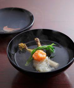 松尾慎太郎Shintaro Matsuo Chefシェフ 北新地 弧柳/(きたしんち こりゅう)茨木市の三島独活の清汁仕立