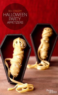 Fun appetizers for a Halloween bash #Halloween #appetizers #party #fal